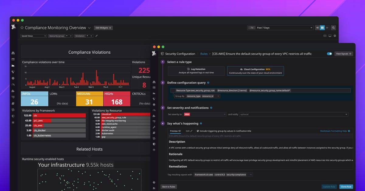 Datadog Security and Compliance Monitoring
