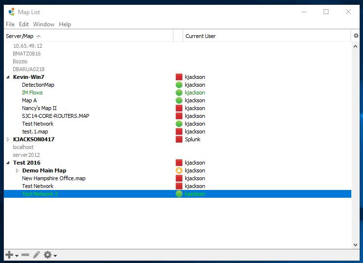 Intermapper Remote Access Client