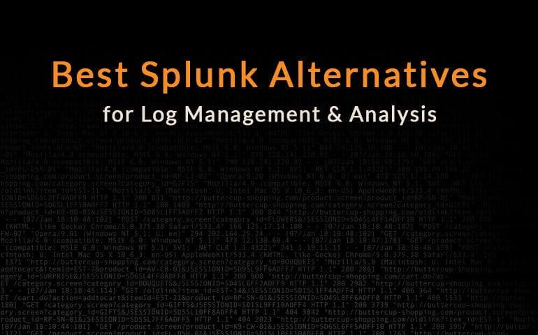 alternatives to splunk
