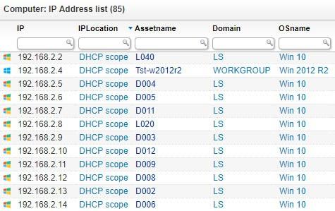 LanSweeper IP Scanner
