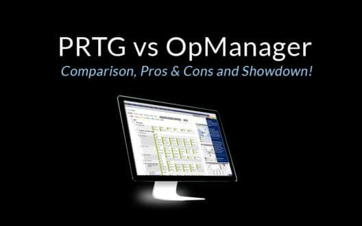 prtg vs opmanager comparison