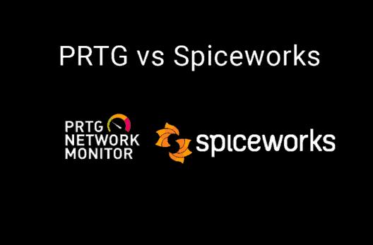 prtg vs spiceworks