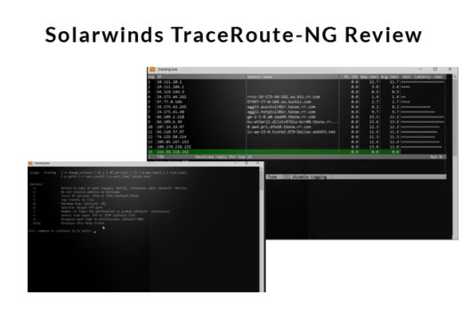traceroute-ng review by solarwinds